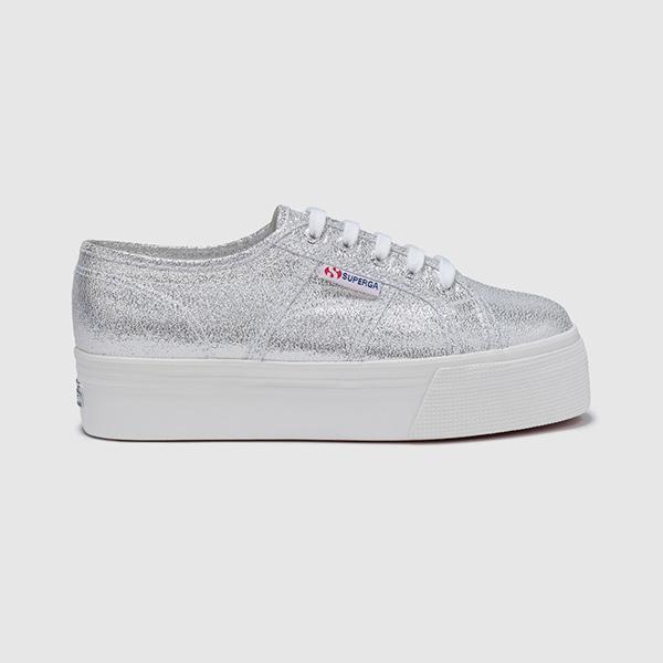 Zapatillas Superga en color plata