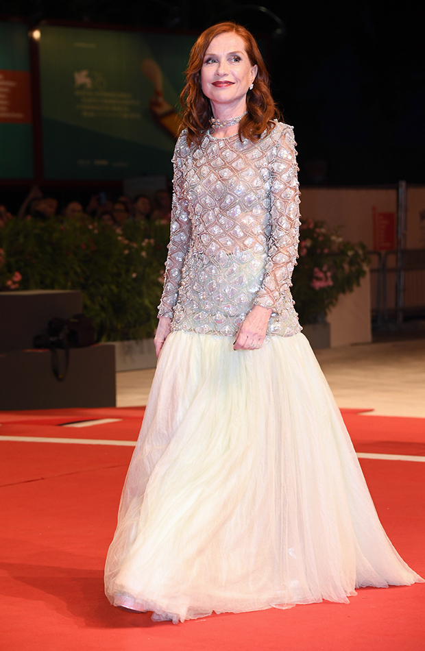 Isabelle Huppert Red Carpet