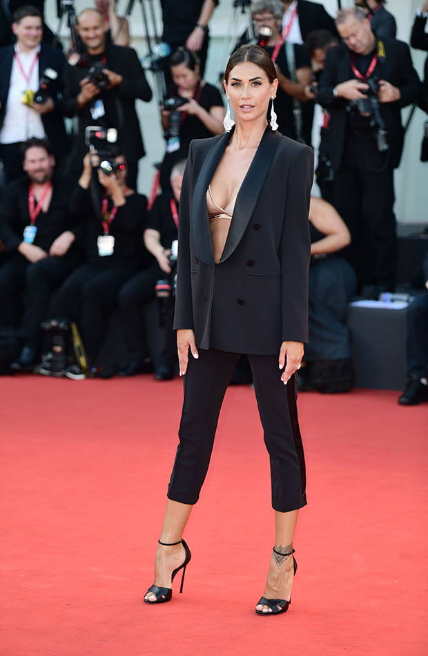 Melissa Satta Red Carpet
