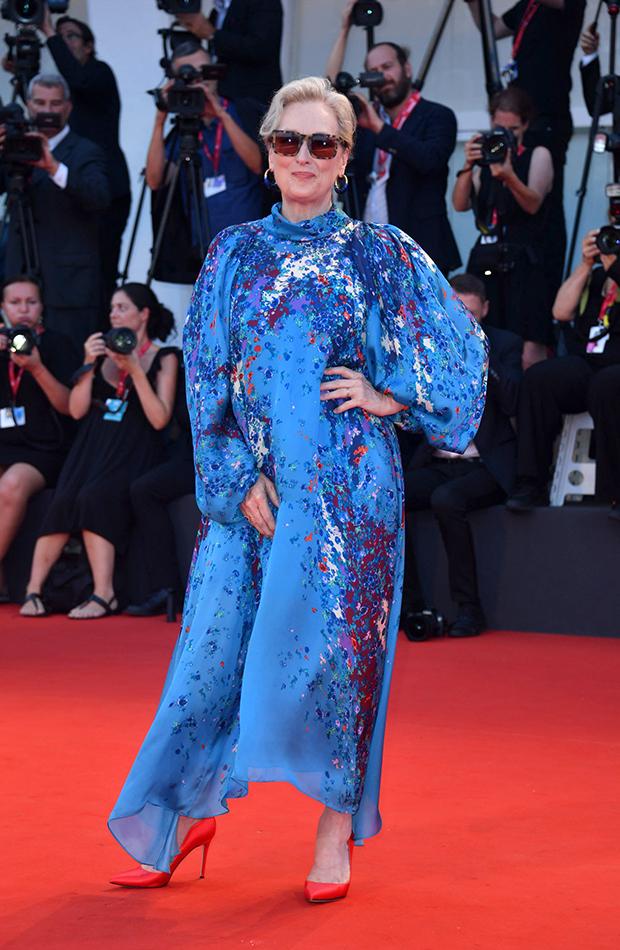 Meryl Streep Red Carpet