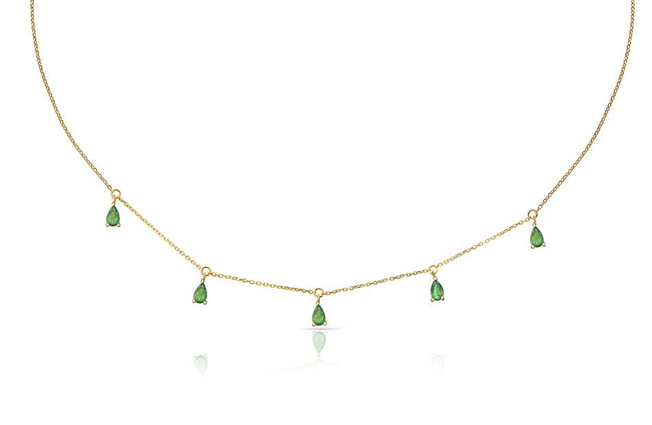 gargantilla verde de mumit