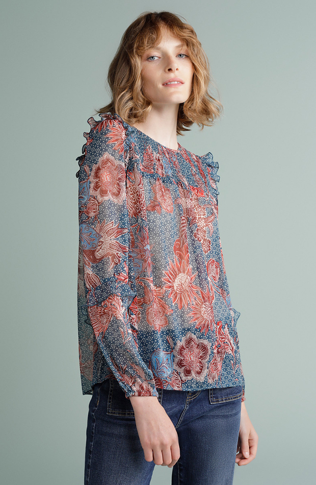 prendas de otoño bluson de tintoretto