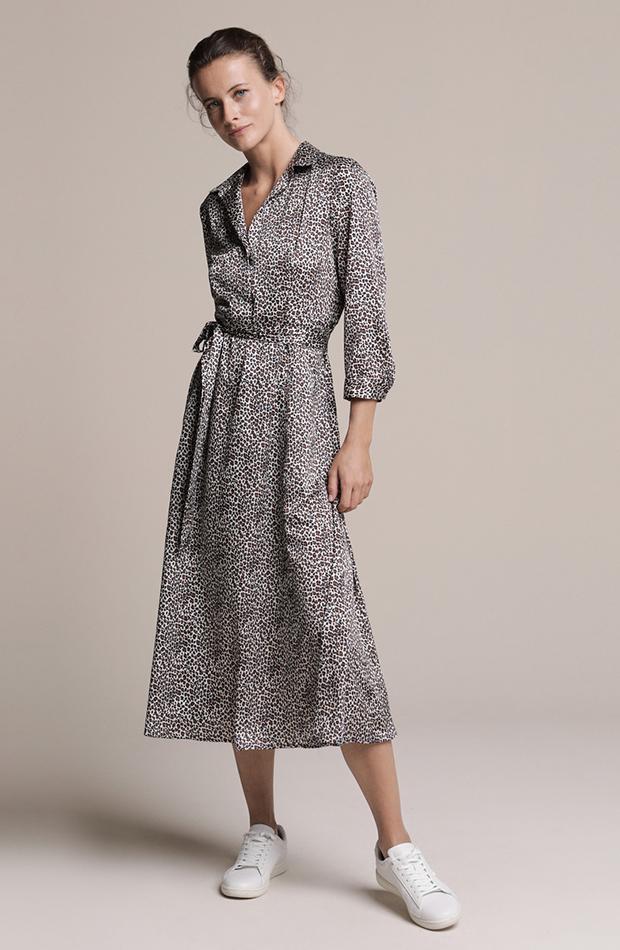 vestido de leopardo de woman el corte ingles