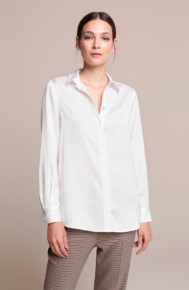 Camisa blanca clásica de Woman El Corte Inglés básicos de armario
