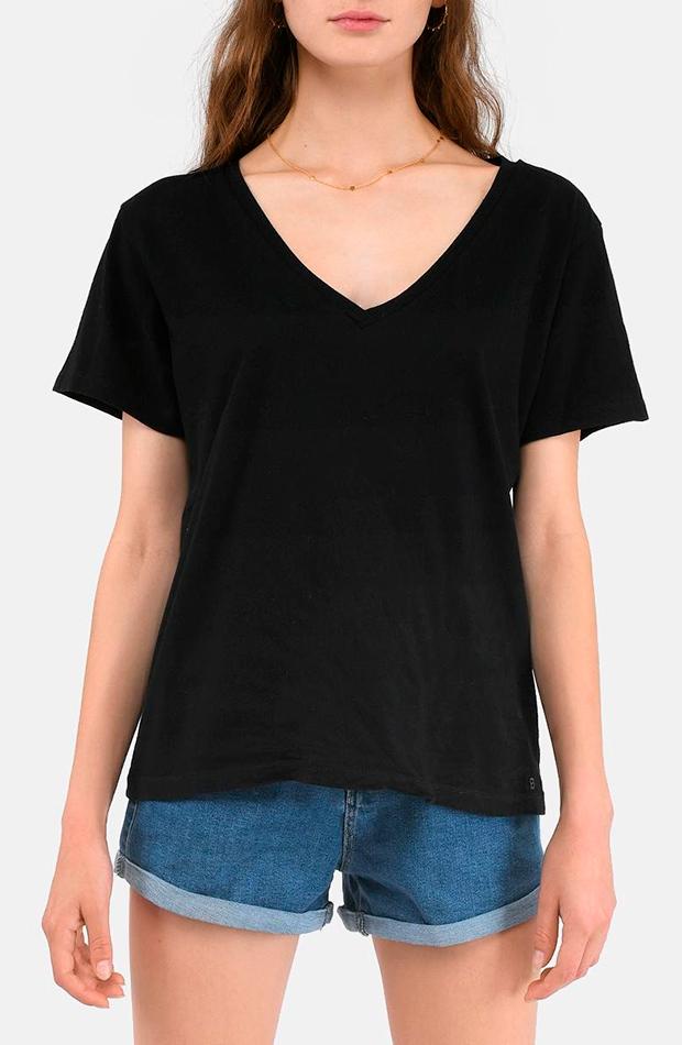 Camiseta negra manga corta de Brownie