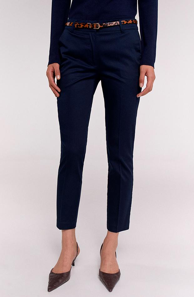 Pantalón de traje azul marino de Sfera