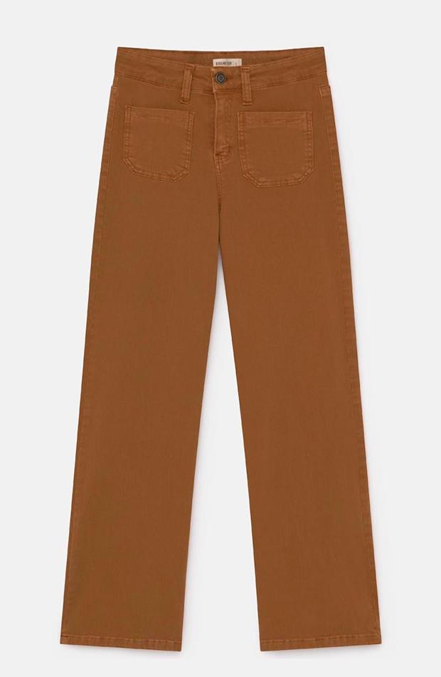 Pantalón marrón camel de Brownie