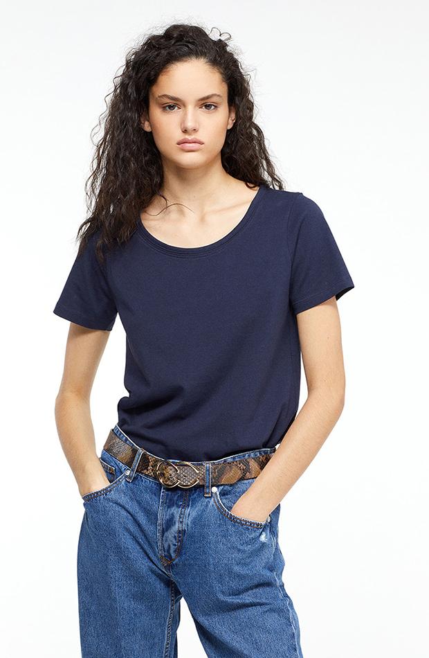 camiseta lisa basica de sfera