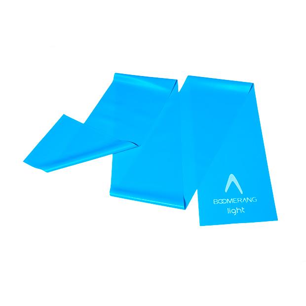 Banda elástica de resistencia color azul de Boomerang deportes de moda