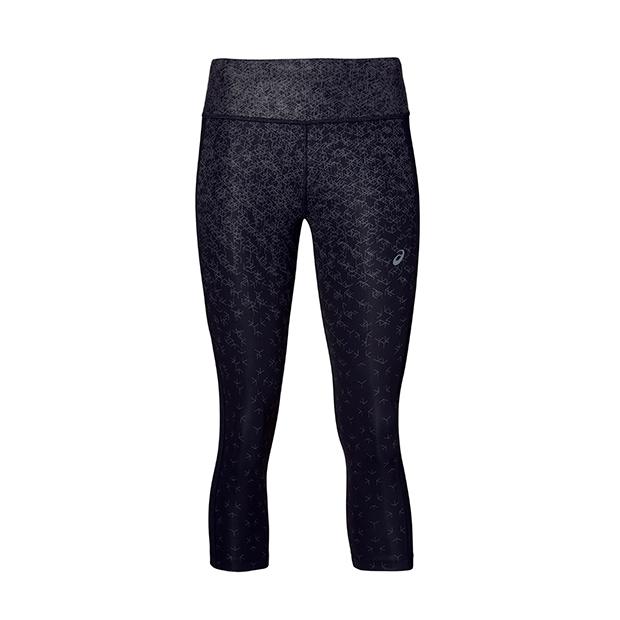 Malla deportiva negra de Asic deportes de moda