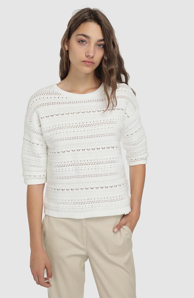 jerseis finos calado blanco