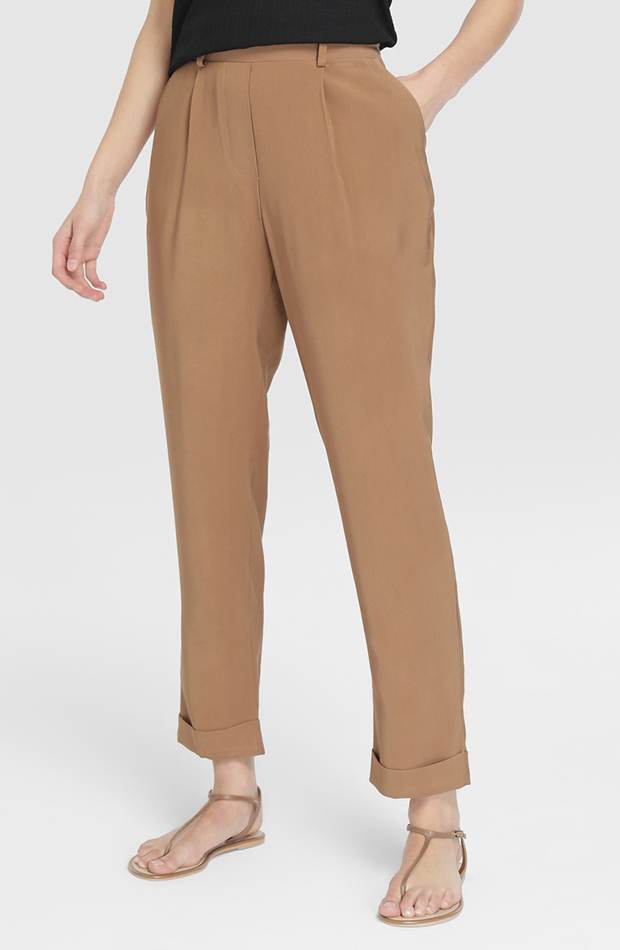 pantalon camel sastre