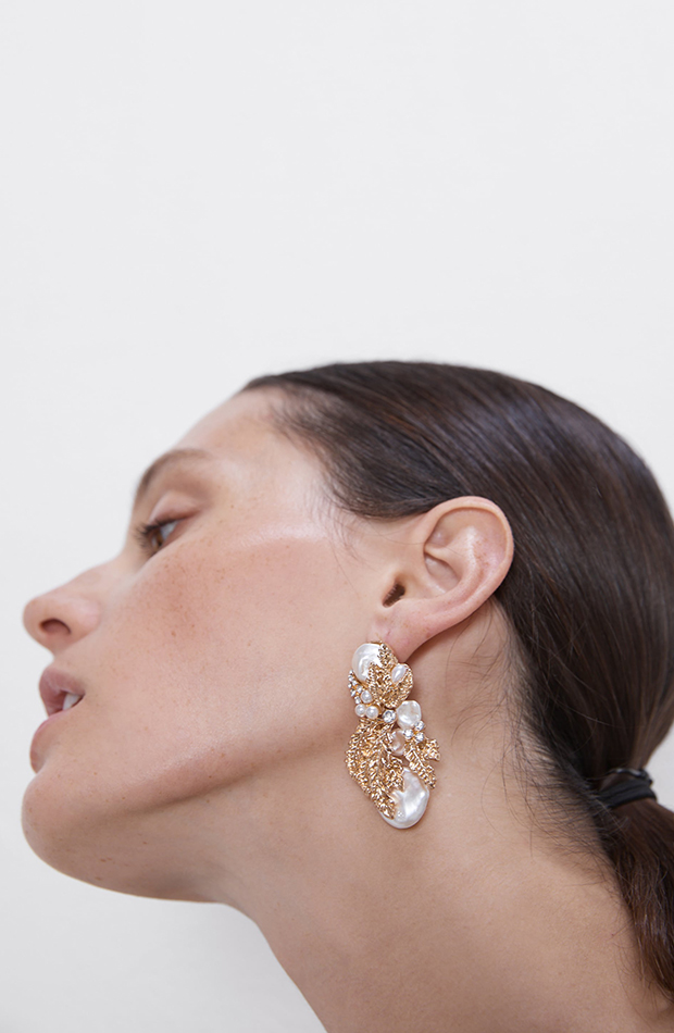 tendencias otono 2019 pendientes perlas