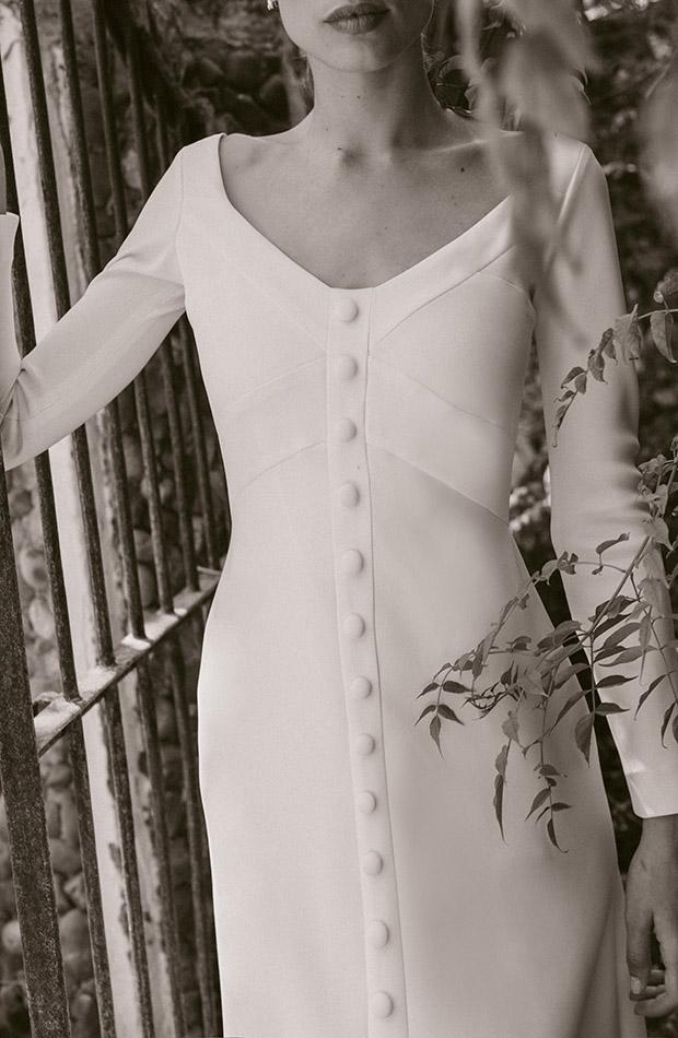 Vestido de novia de Cherubina 2020