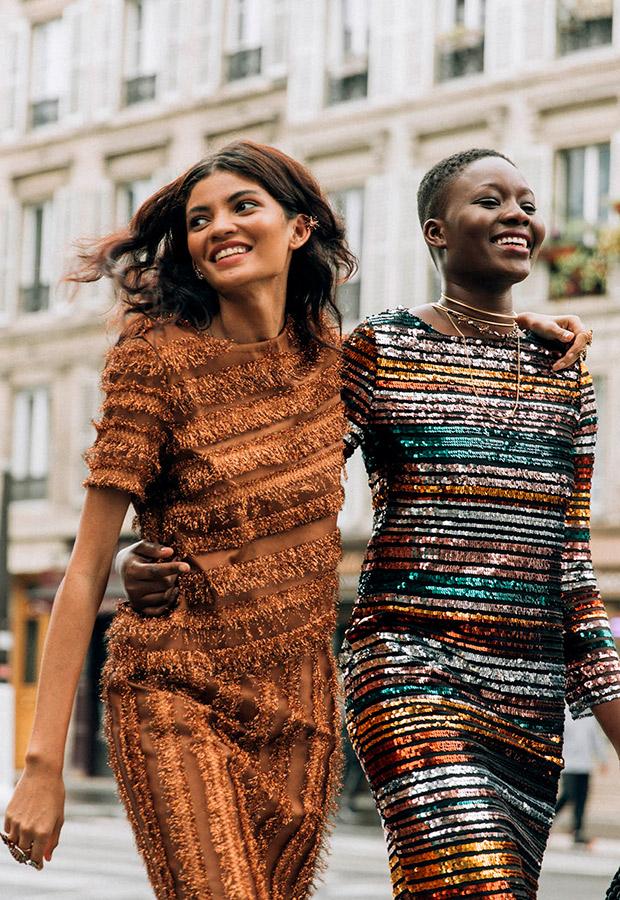 Vestidos de La Rue de Sophie and Lucie