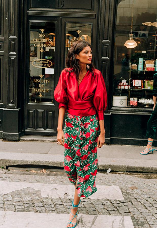 Conjunto de falda y camisa de La Rue de Sophie and Lucie