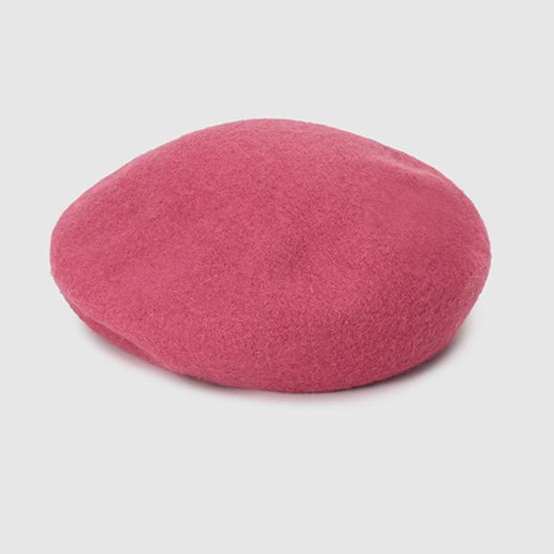 Boina de lana roja de El Corte Inglés