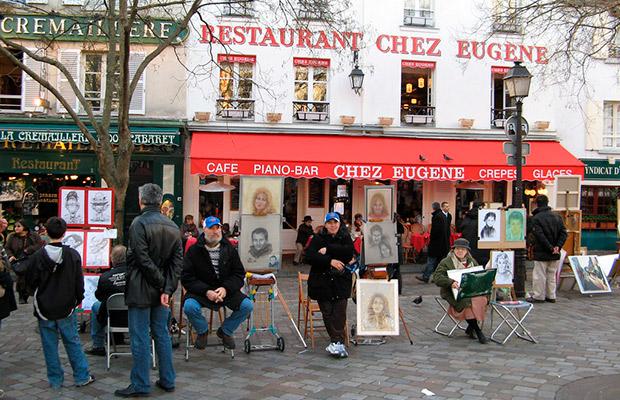 Atracciones turísticas en París