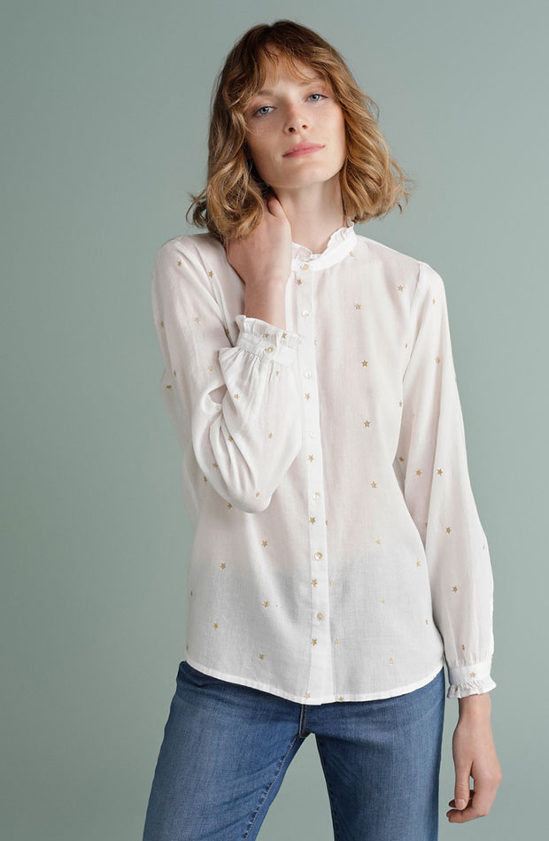 camisa con estrellas de tintoretto