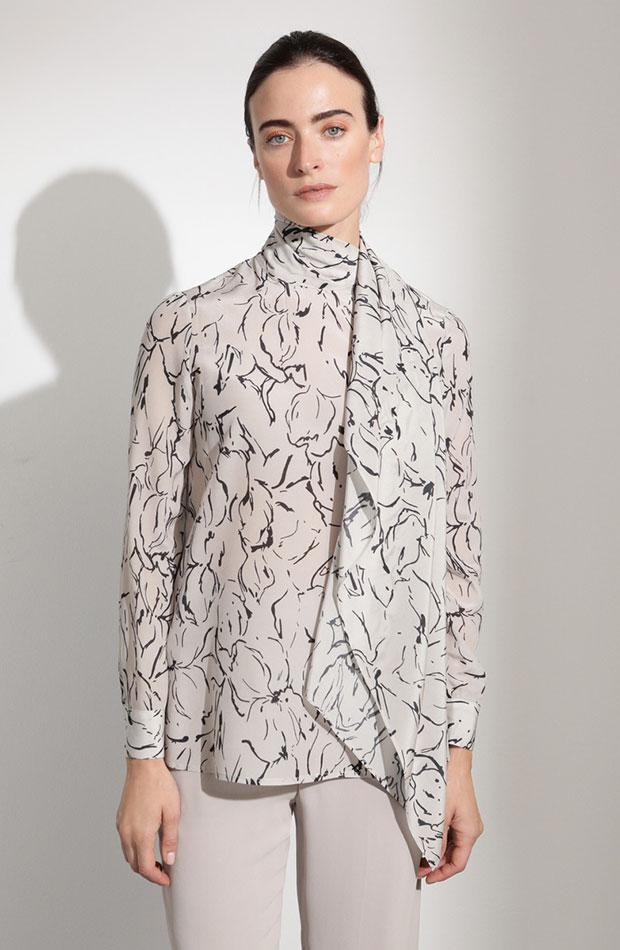 blusa con lazada woman el corte ingles