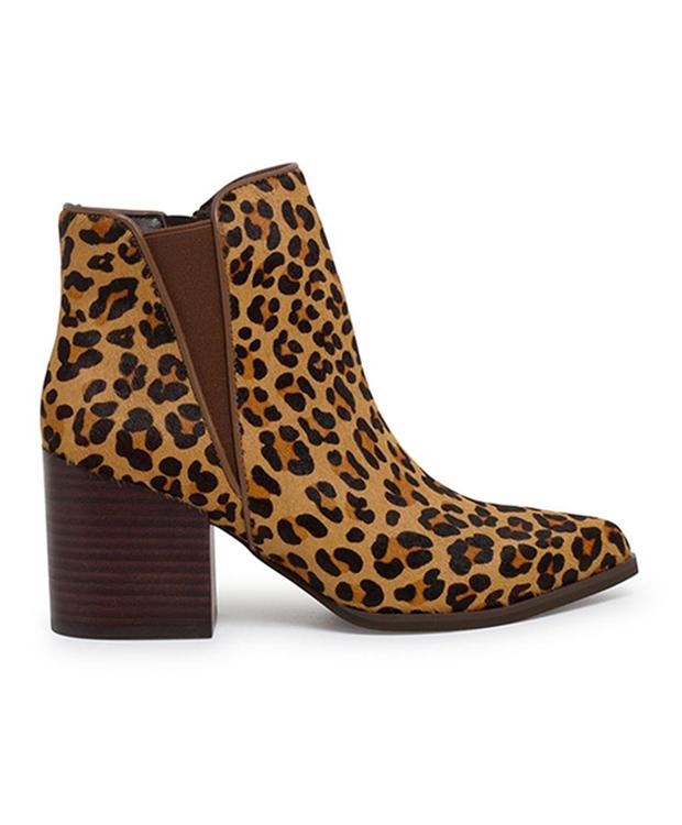 Botines de estampado de leopardo de El Corte Inglés