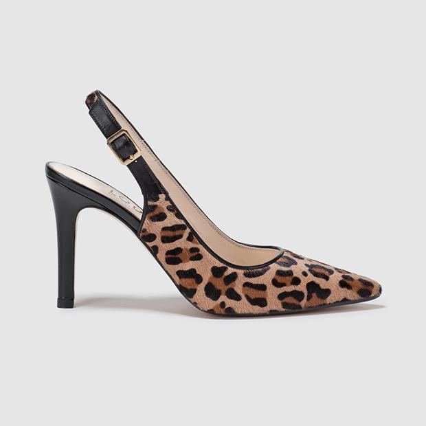 salones con estampado de leopardo