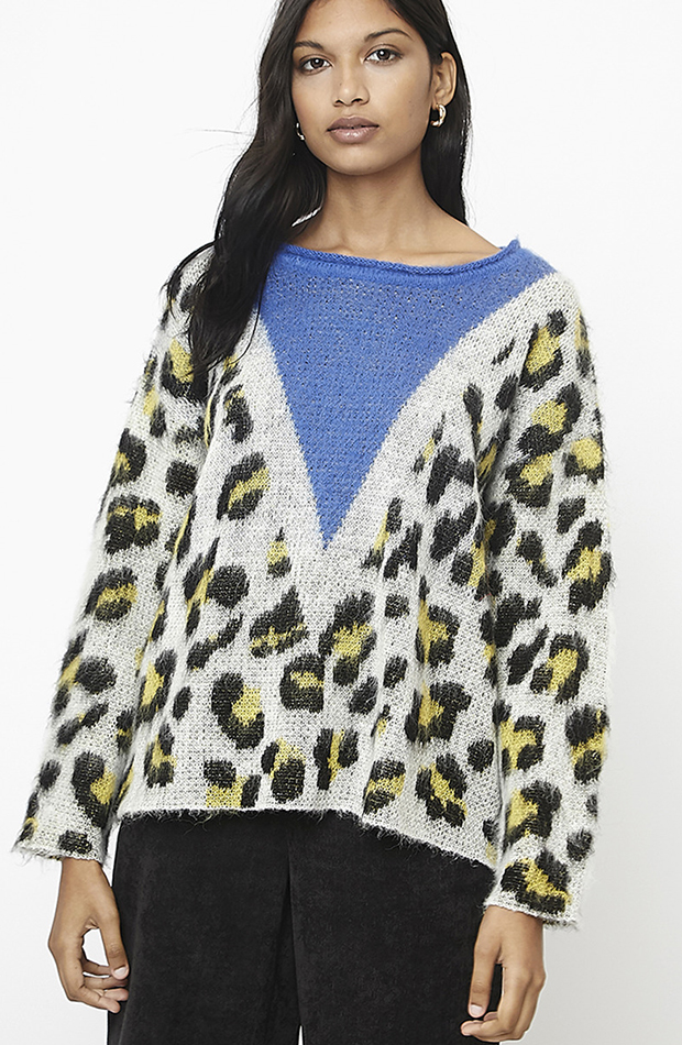 jersey con animal print