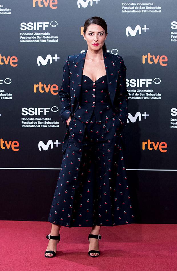 Bárbara Lennie en el Festival de San Sebastián 2019