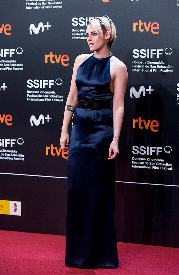 Kristen Stewart en el Festival de San Sebastián 2019