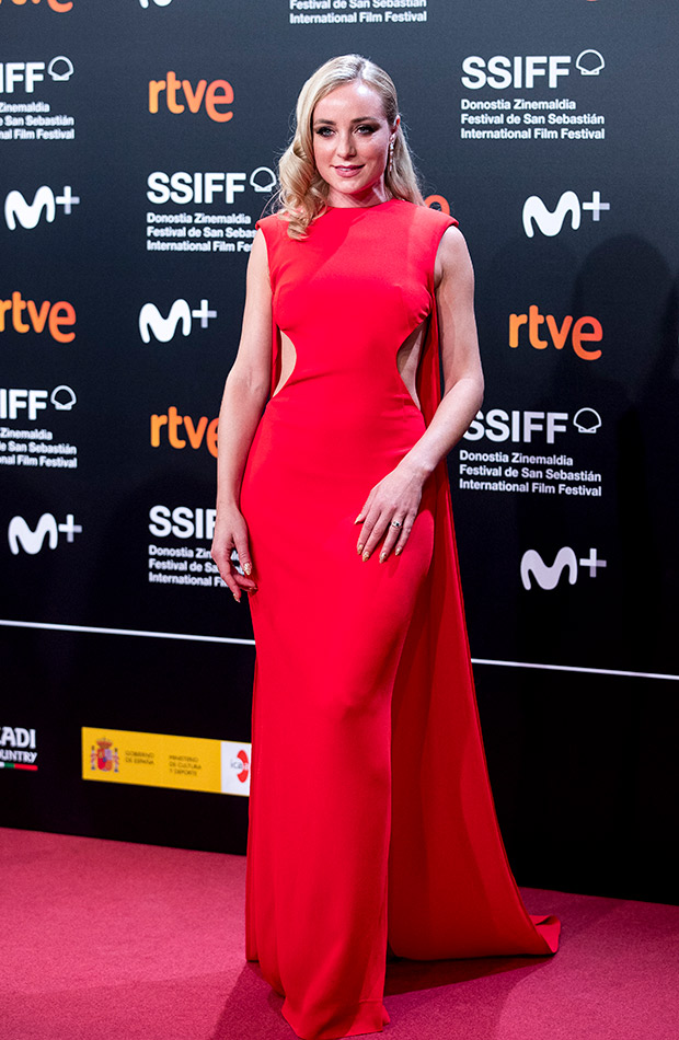 Ángela Cremonte en el Festival de San Sebastián 2019