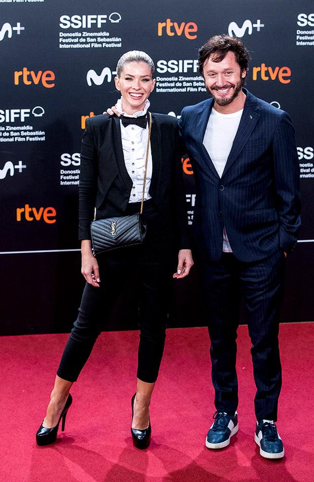 China Suárez y Benjamin Vicuña en el Festival de San Sebastián 2019