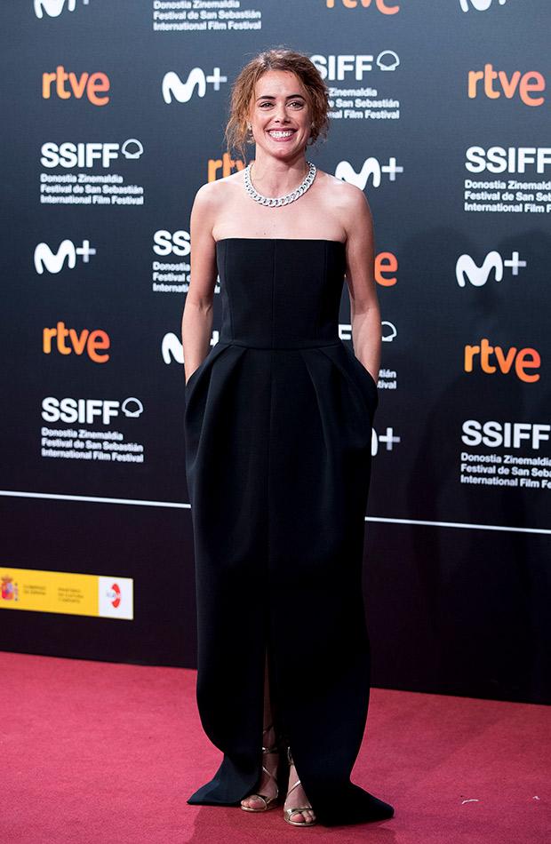 Patricia López Arnaiz en el Festival de San Sebastián 2019