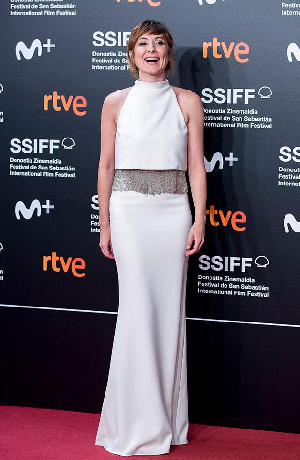 Nathalie Poza en el Festival de San Sebastián 2019