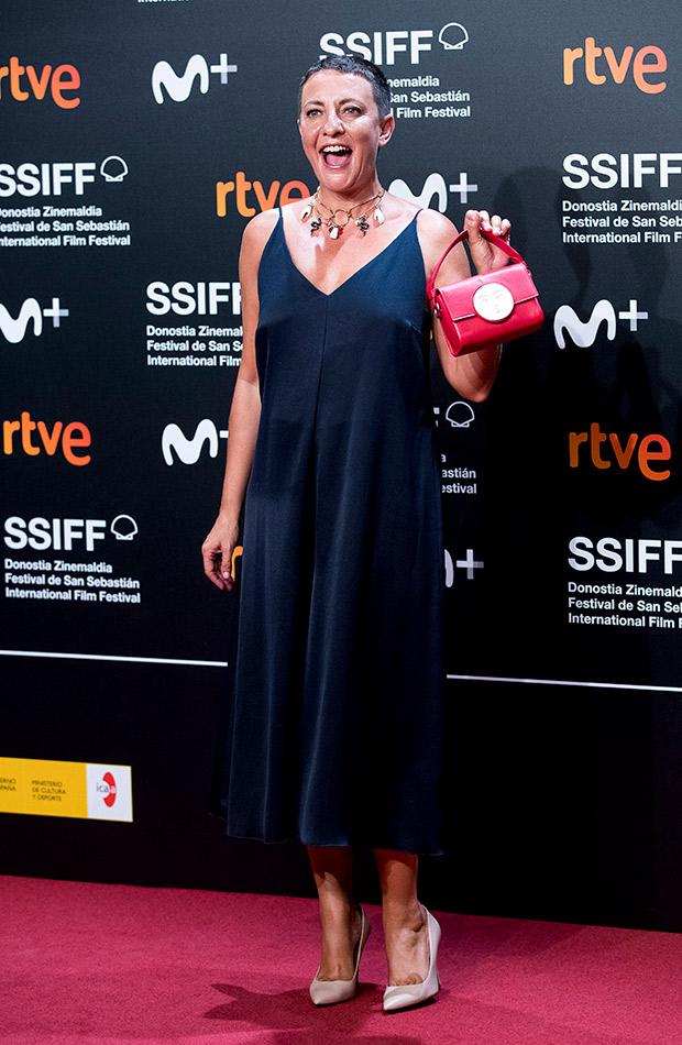 Eva Hache en el Festival de San Sebastián 2019