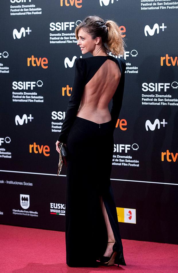 Leticia Dolera en el Festival de San Sebastián 2019