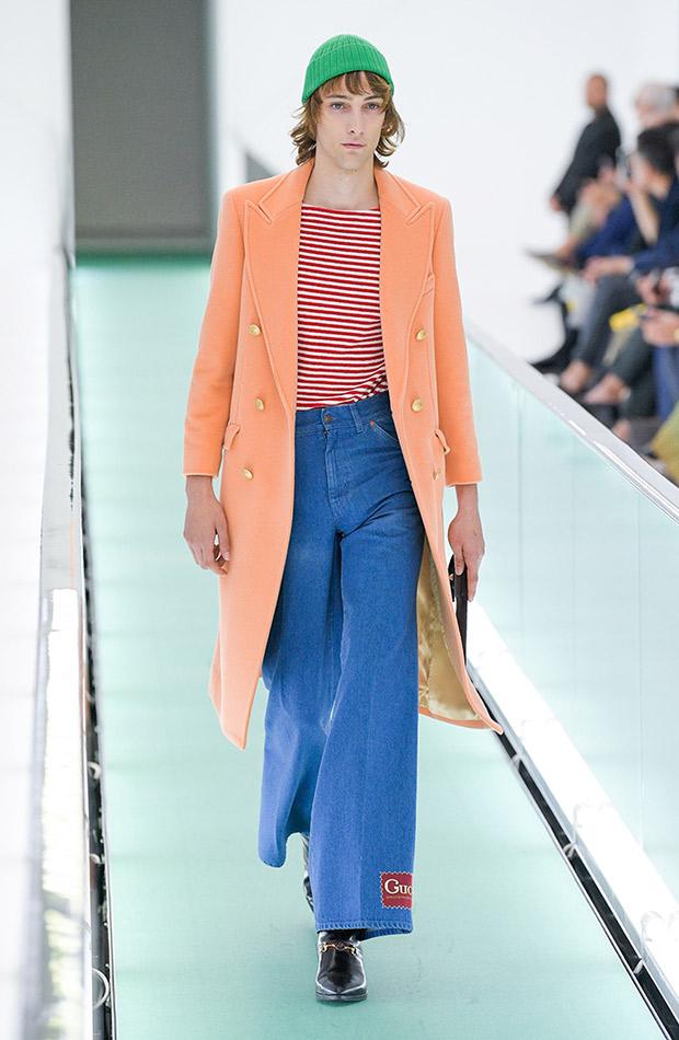 Gucci primavera verano 2020 look hombre jeans