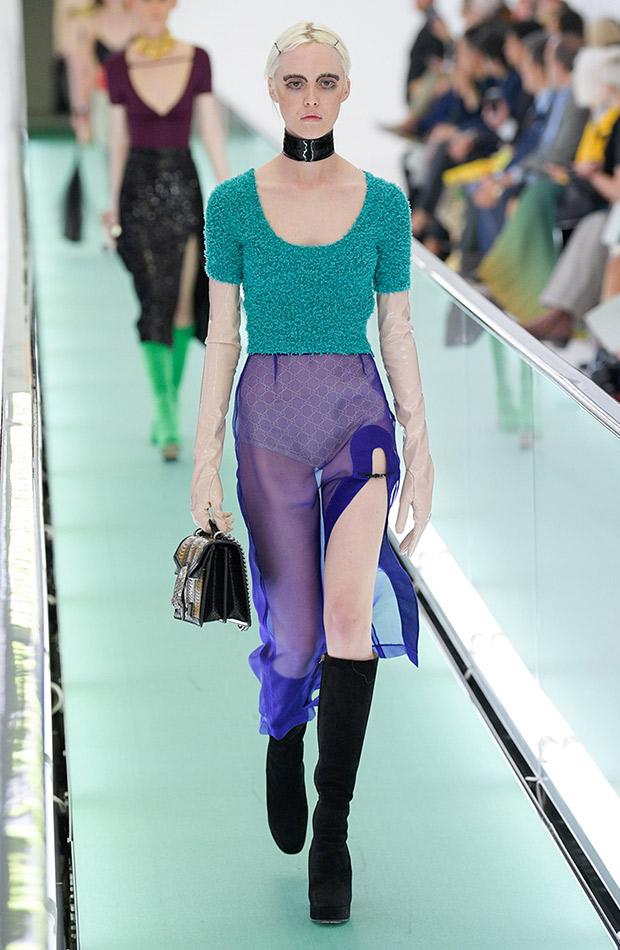 Gucci primavera verano 2020 falda