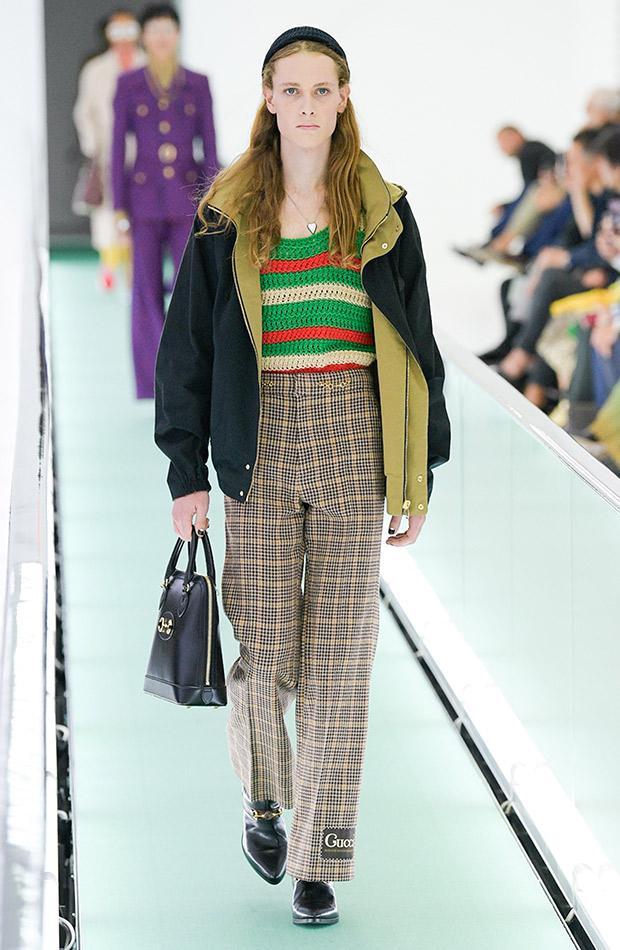 Gucci primavera verano 2020 conjunto casual