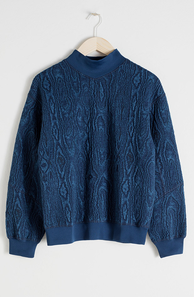 & Other stories sweater azul