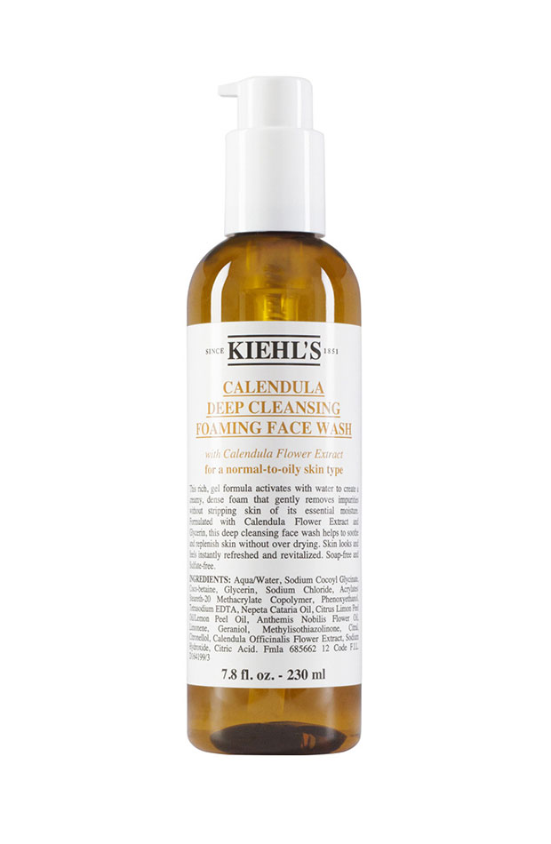 gel facial kiehls