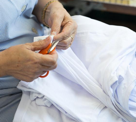 Proceso de creación de ropa interior sostenible