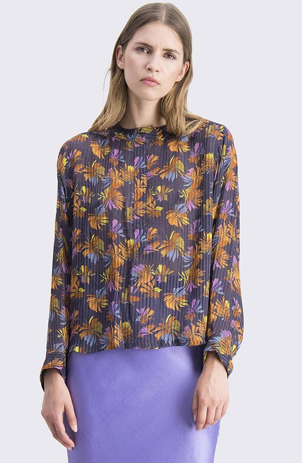 blusa flores cks