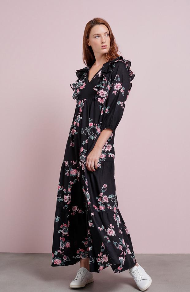 Vestidos tendencia otoño 2019 de estilo boho