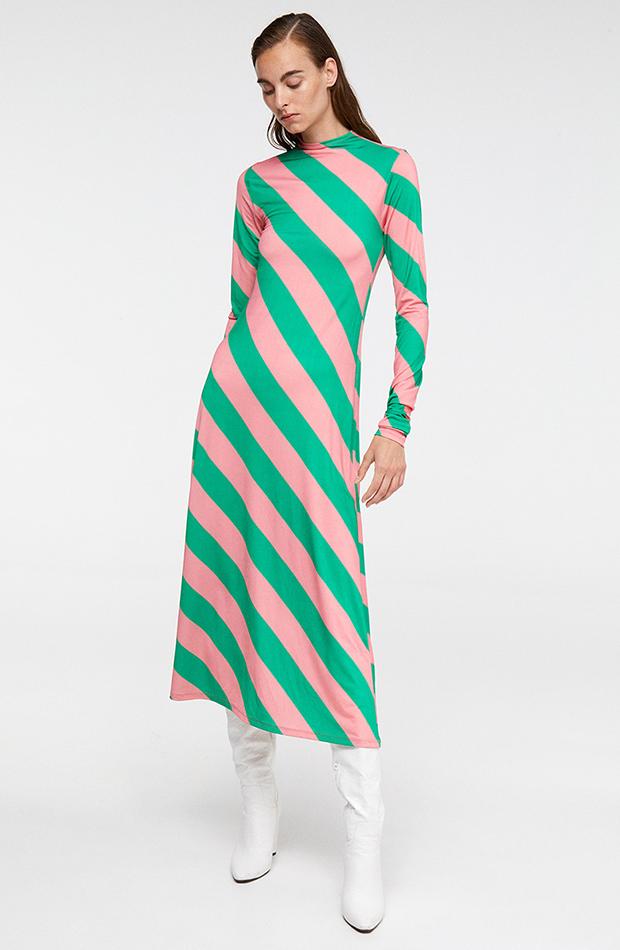 Vestido de rayas de Sfera