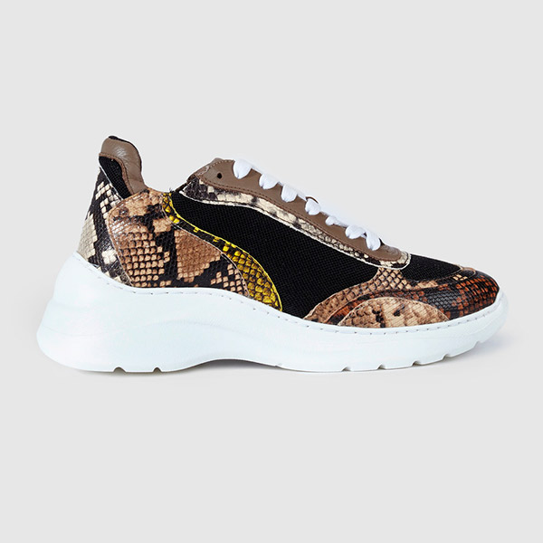 Sneakers con animal print