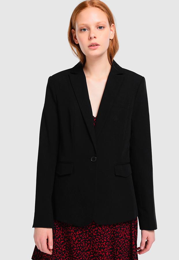 Blazer clásica negra de Easy Wear