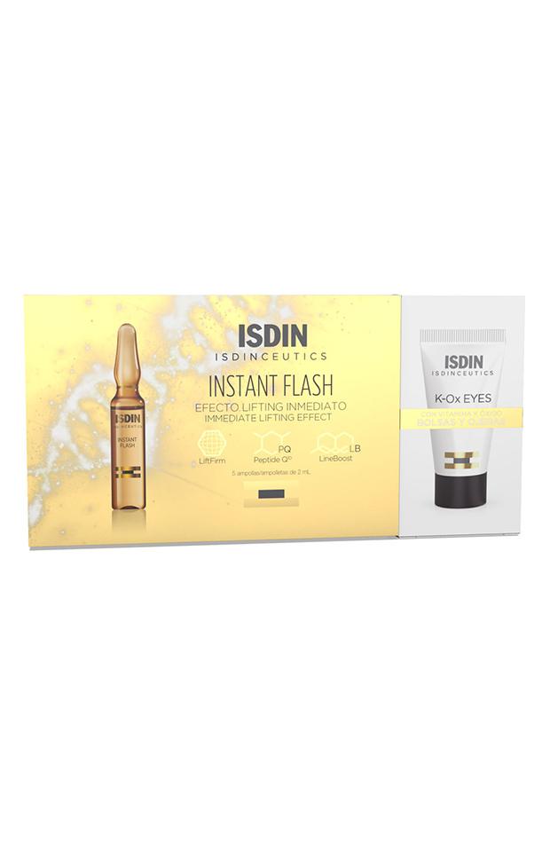 Isdinceutics Instant Flash 5 ampollas y antiojeras