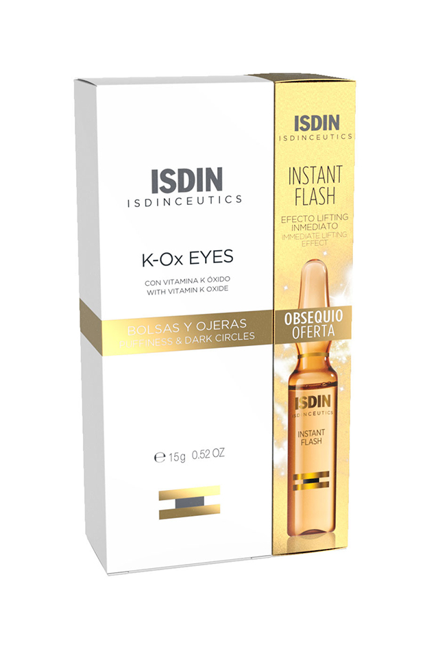Isdinceutics Instant Flash individual con antiojeras