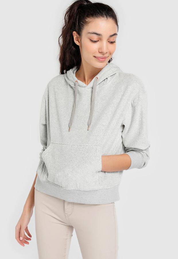Sudadera gris clara de Easy Wear