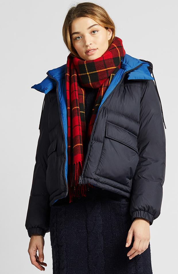 Amor por los básicos Uniqlo Abrigo azul